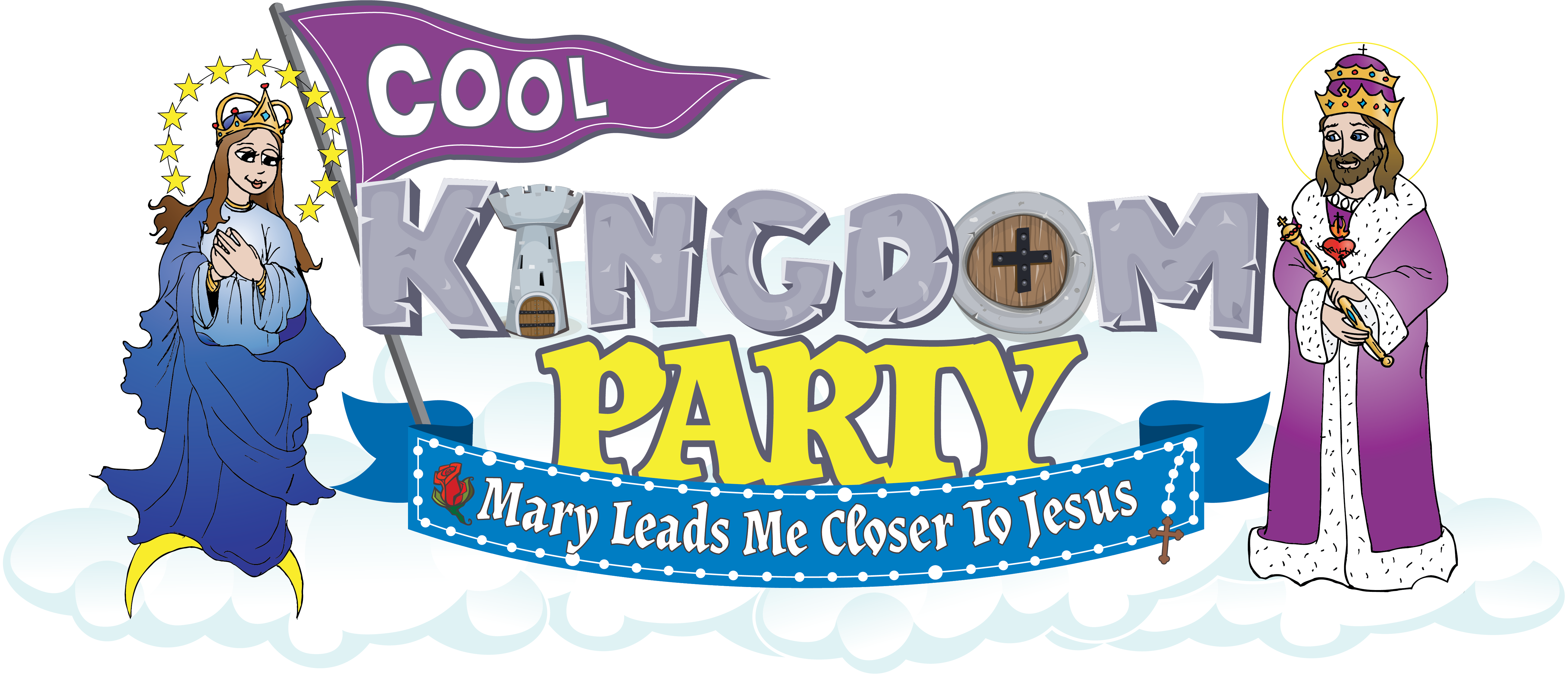 Cool Kingdom Party logo smaller