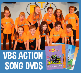 VBS action song DVDs