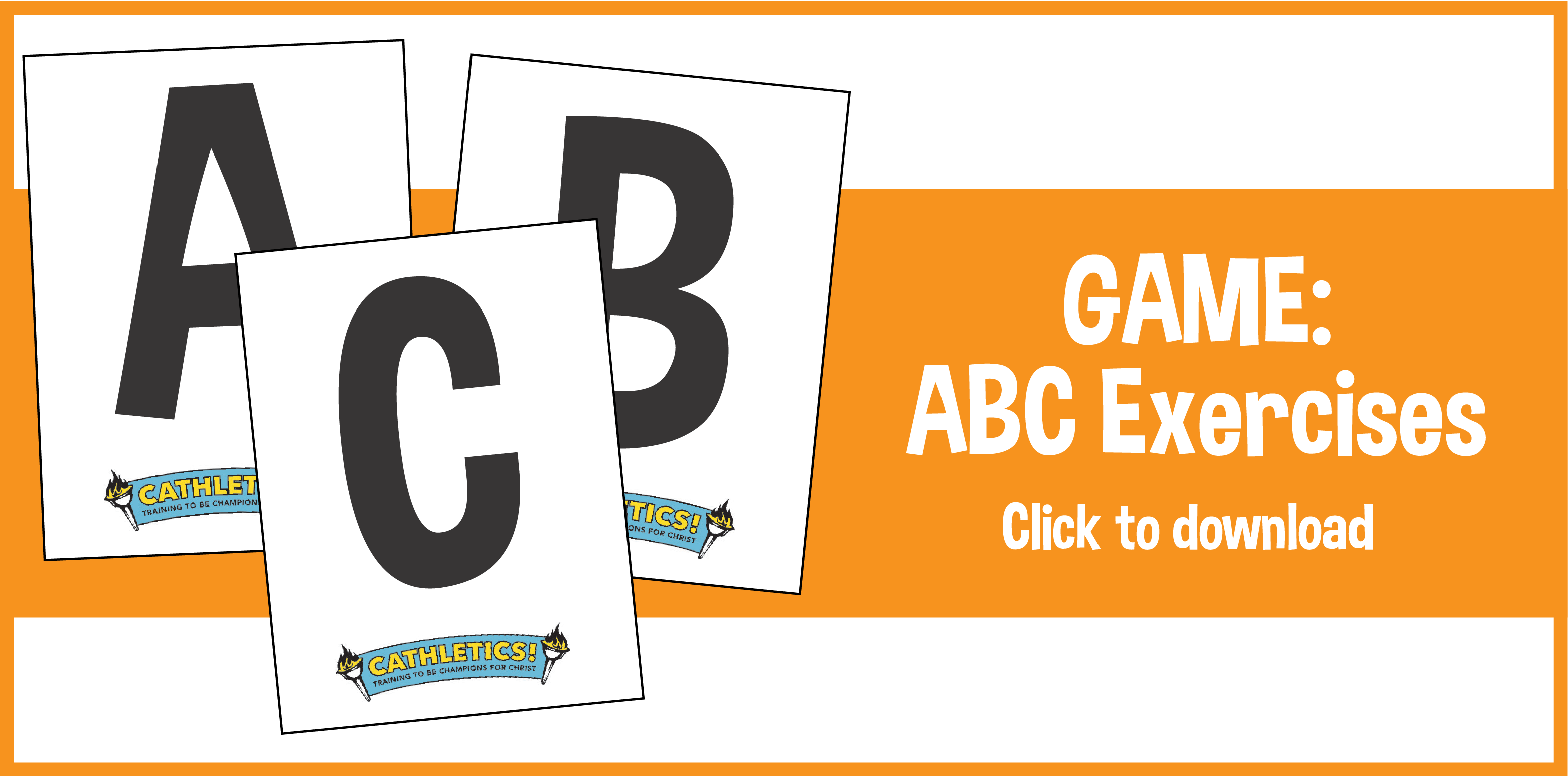ABC game button