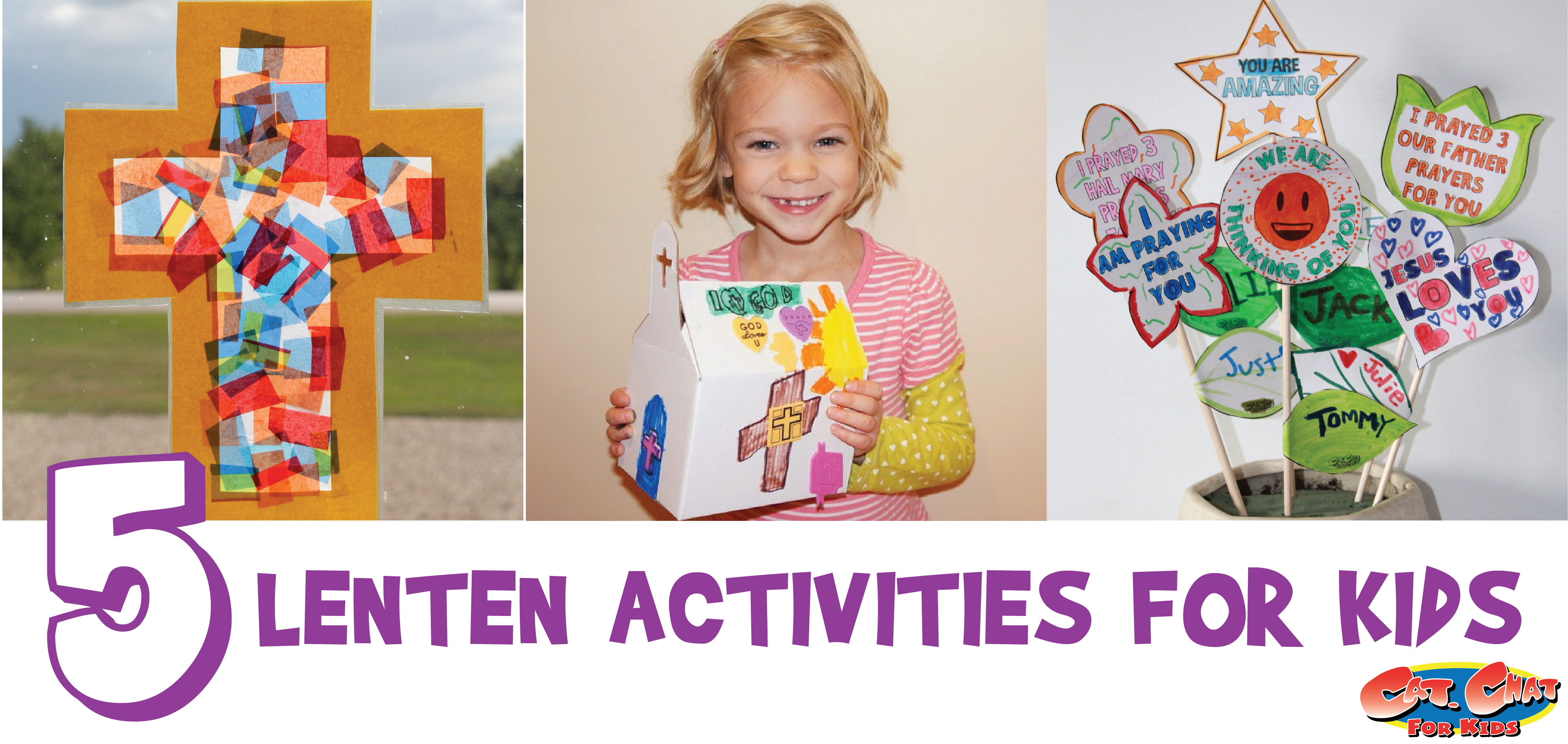 Lenten activities for kids