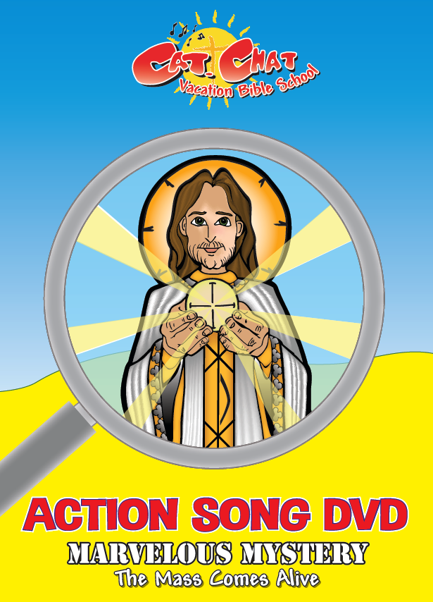 Marvelous Mystery Action Song DVD cover