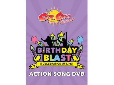 Birthday Blast VBS Action Song DVD